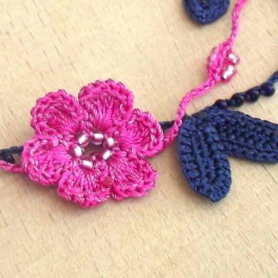 小さな花のモチーフ