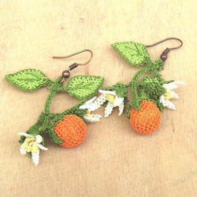 揺れるオレンジがかわいい