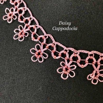 画像2: メキッキオヤ ネックレス スモールフラワー ピンク