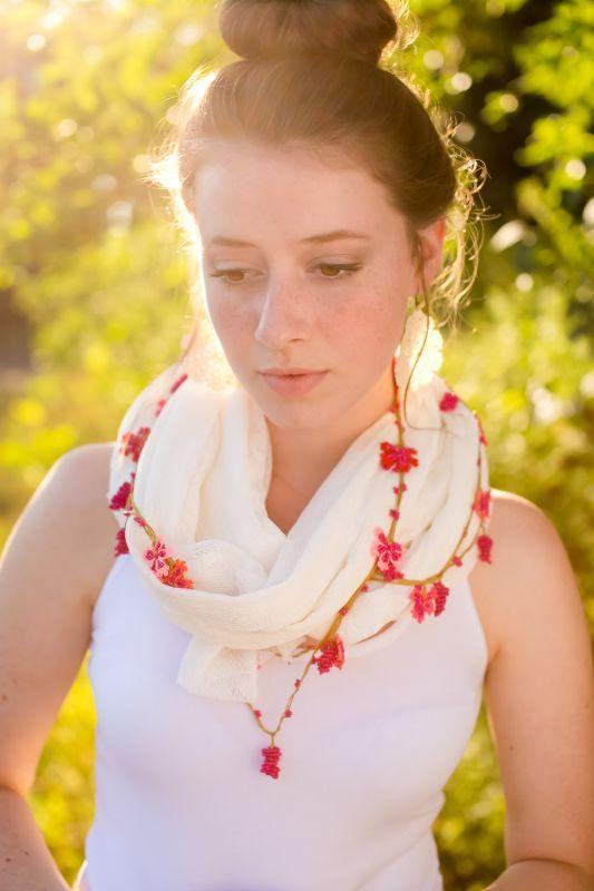 オヤスカーフと夏の着こなし