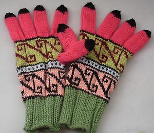 手編み小物の季節②