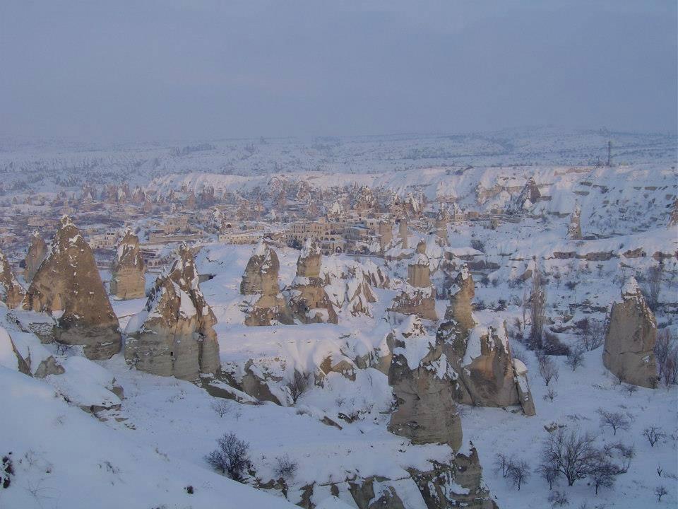 カッパドキア、雪です