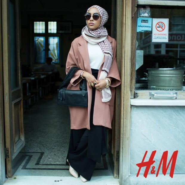 H&Mのイスラムファッション
