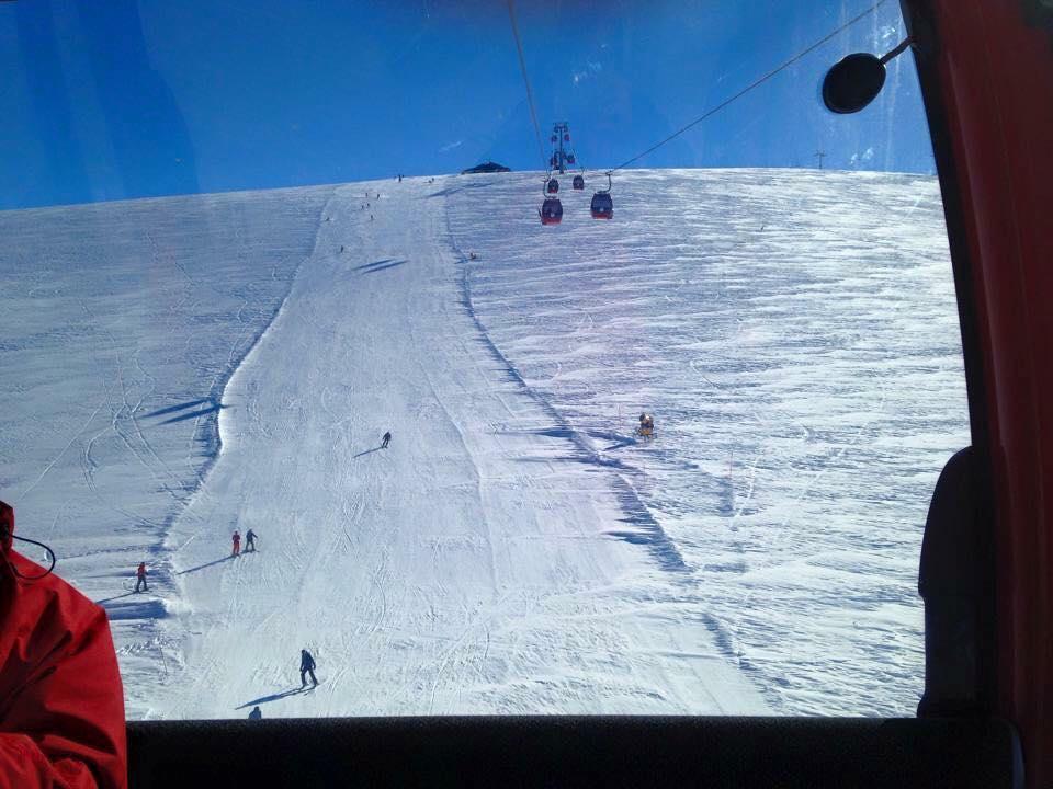 トルコのスキー場